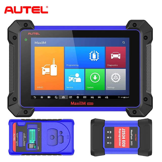 Autel MaxiIM IM608 Key Programming & Diagnostic Tool IMMO All Key Lost, ECU Coding, All Systems Diagnosis and 23 Services