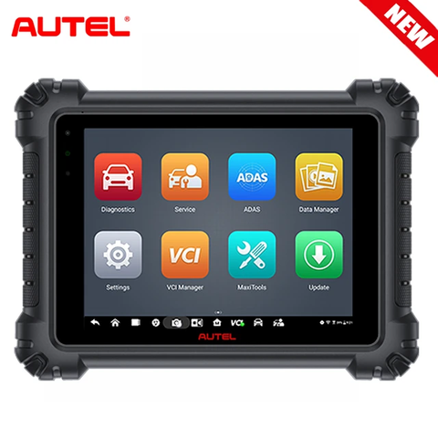 Image of Autel Maxisys MS909 with MaxiFlash VCI Comprehensive OBDII Diagnostics & Services Advanced ECU Coding & Programming