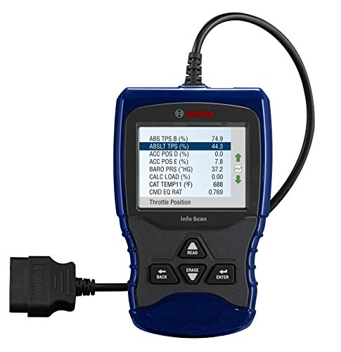 Bosch Automotive Tools OBD 1150 Trilingual Scan Tool with AutoID, Live Data, ABS and Graphing