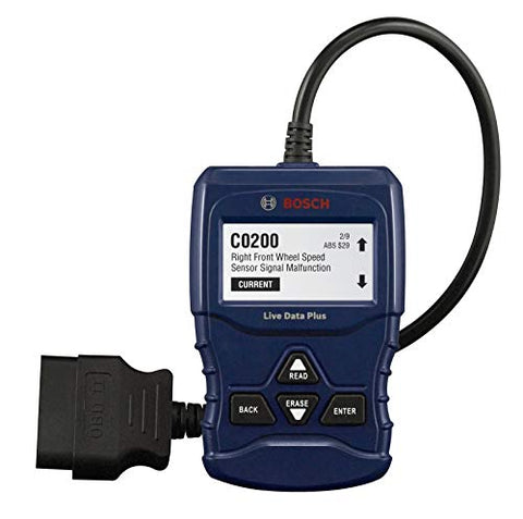 Bosch OBD 1100 Scan Tool with Live Data, OBD II, CAN & ABS