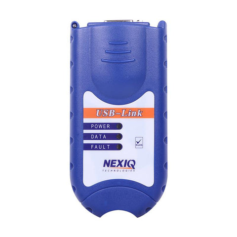 Image of NEXIQ 125032 USB Link Diesel Heavy Duty Truck Diagnostic Tool +Software FULL SET