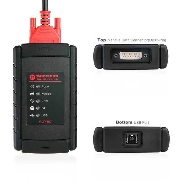 Autel MaxiCOM MK908 Diagnostic Tool Upgraded Version of Autel Maxisys MS906, MS908