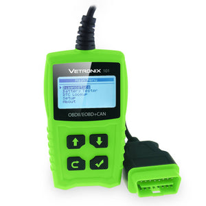 Vetronix 101 car code reader scanner for OBD2/OBD II/EOBD/CAN vehicles