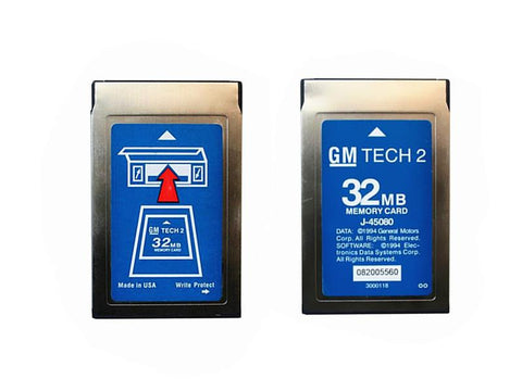 Image of Software Card For Tech 2 Diagnostic Tool GM/Opel/Suzuki/Isuzu/Saab/Holden