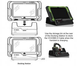 Image of Bosch ADS 625 Diagnostic Scan Tool with 10-in Display