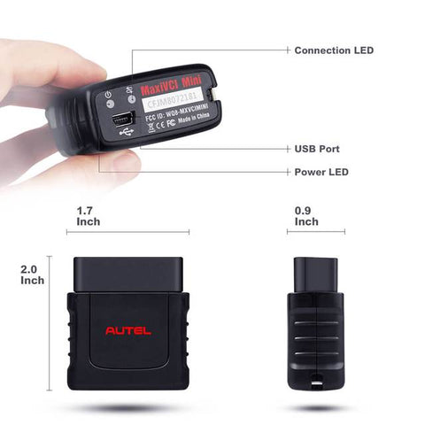 Image of Autel MaxiCOM MK808BT OBD2 Diagnostic Scan Tool Upgraded Version Of MK808 MX808 Code Reader