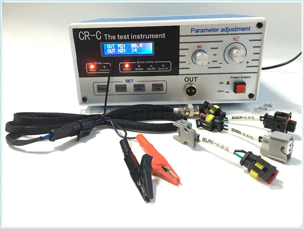 CRC MultiFunction Diesel Common Rail Injector Tester + Nozzle S60H
