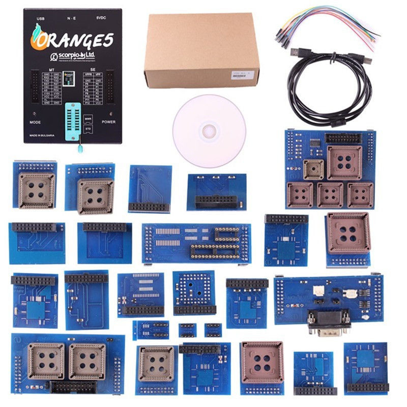 Orange5 Professional Programmer Device Memory and Microcontrollers FULL SET