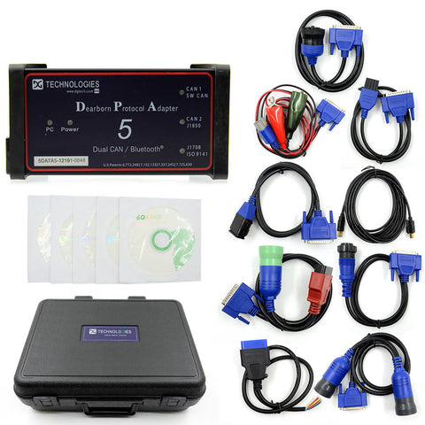 Image of Bluetooth Dearborn Protocol Adapter5 Heavy Duty Truck Scanner DPA5 car diagnostic tool DPA 5