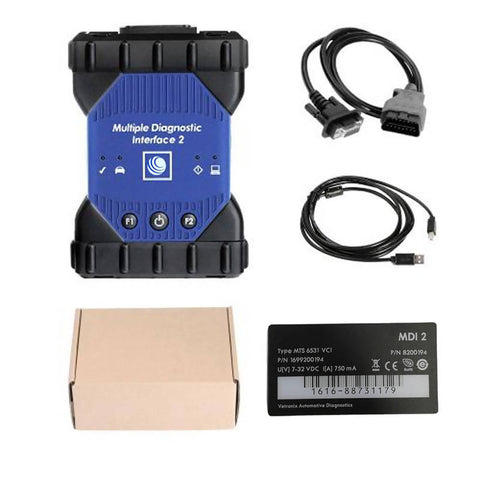 Image of GM MDI 2 professional car diagnostic interface with WIFI card