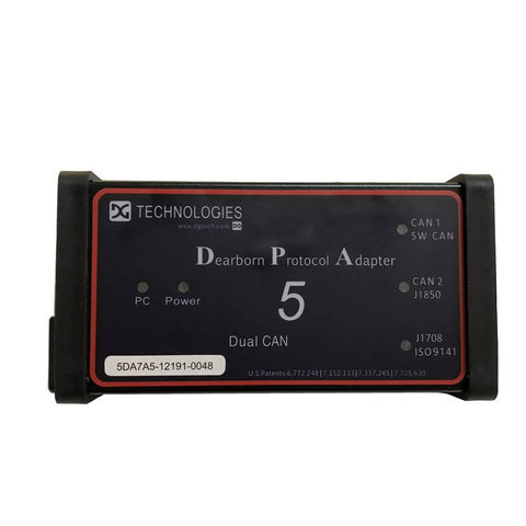 Bluetooth Dearborn Protocol Adapter5 Heavy Duty Truck Scanner DPA5 car diagnostic tool DPA 5
