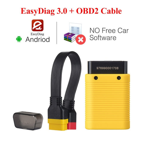 Image of LAUNCH X431 EasyDiag 3.0 Bluetooth OBD2 Code Reader Scanner for Android EasyDiag 3.0 Plus OBDII diagnostic tool pk easydiag 2.0