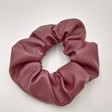 Load image into Gallery viewer, Leather Scrunchie
