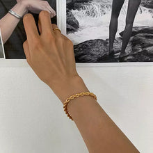 Load image into Gallery viewer, Gold Rope Bracelet