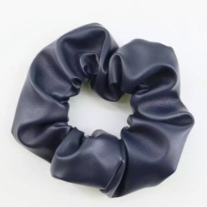 Leather Scrunchie