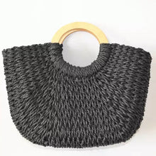 Load image into Gallery viewer, Woven Basket Bag