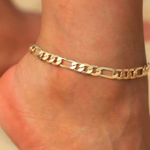 Zeze Gold Chain Anklet