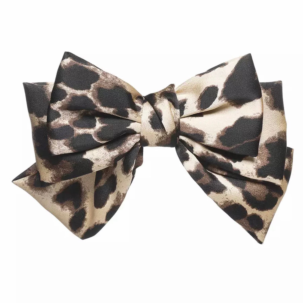 Large Bow Hair clip (various colours available)