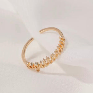Horoscope Gold Ring