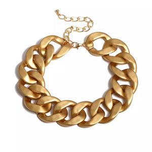 XL Chunky Gold Necklace