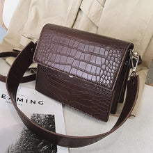 Load image into Gallery viewer, Lily Croc Effect Handbag