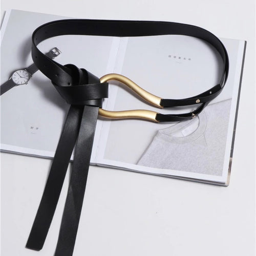 Double Layer Knot Belt