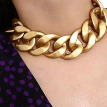 Load image into Gallery viewer, XL Chunky Gold Necklace
