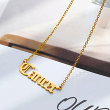 Load image into Gallery viewer, Horoscope Gold Necklace