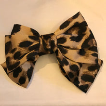 Load image into Gallery viewer, Large Bow Hair clip (various colours available)