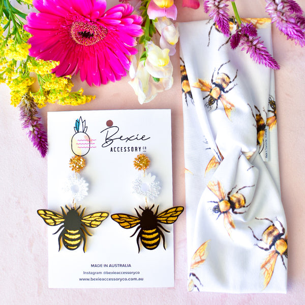 Twist Turban - Honey Bee