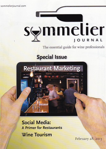 Roberts Wineware Feature in Sommelier Journal