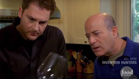Roberts wineware's wine glasses featured on food network