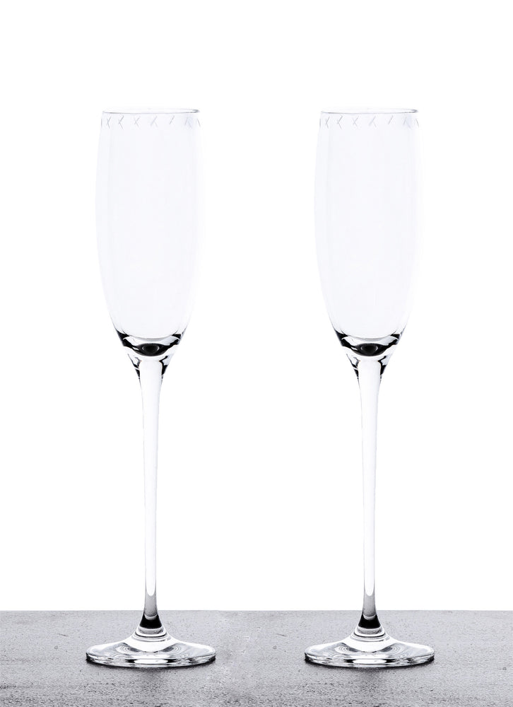 Champagne Glasses - Set of 2