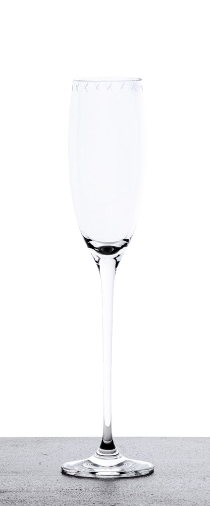 Champagne Glasses - Set of 4
