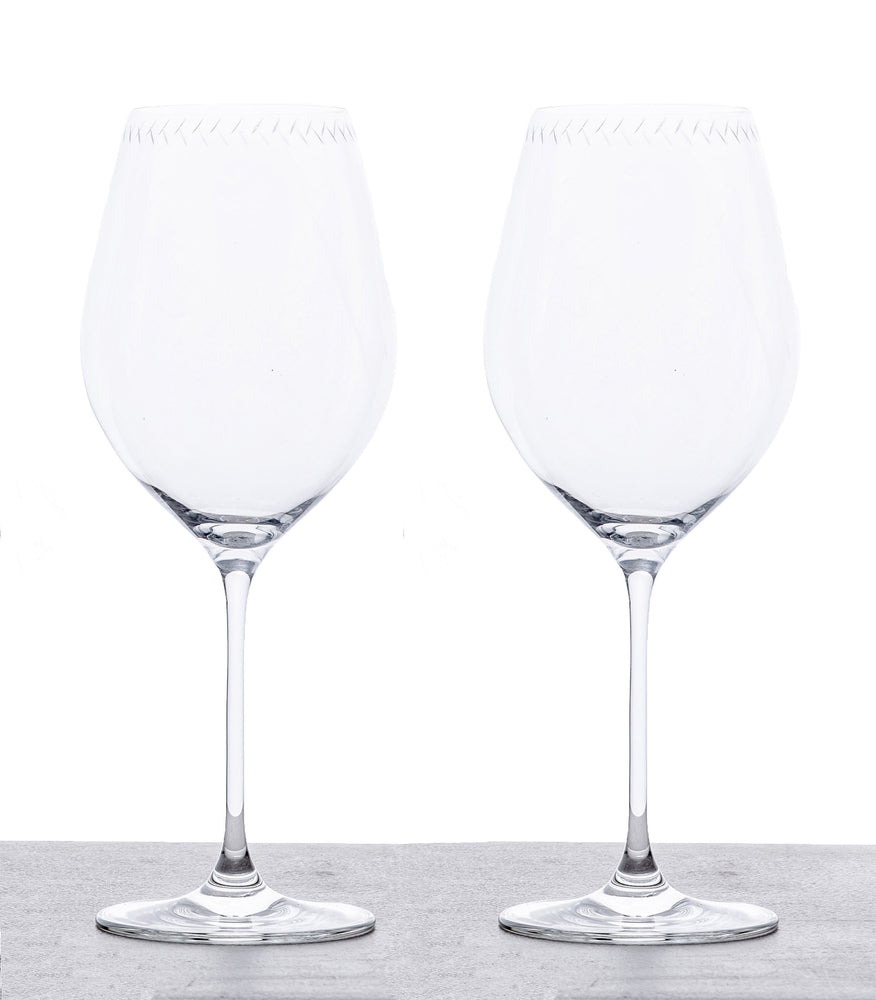 Red Wine Glasses - Set of 2