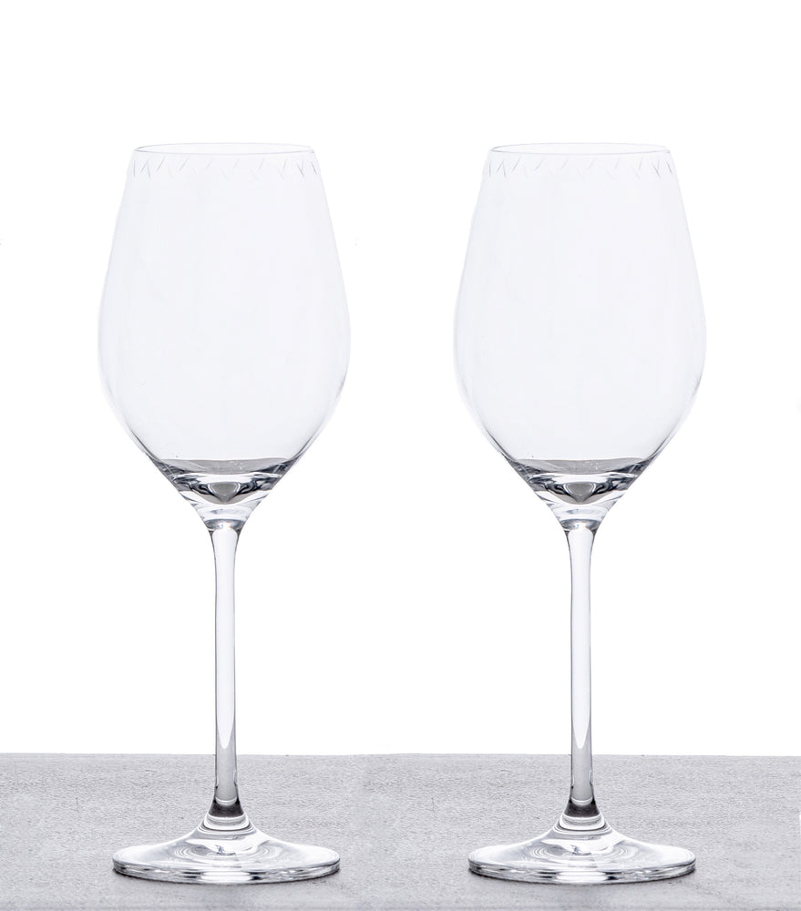 White Wine Glasses - Set of 2