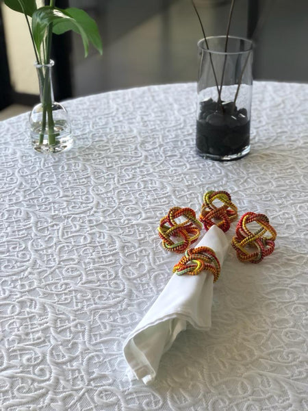 Double Heart  Napkin ring
