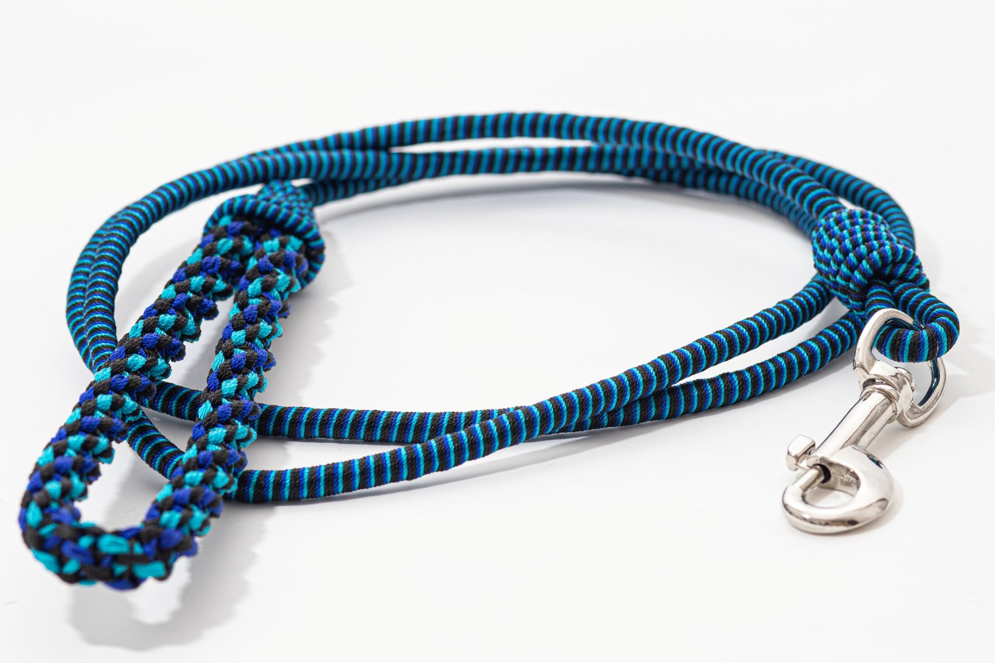 SEQUENCE dog leash- Blue combination