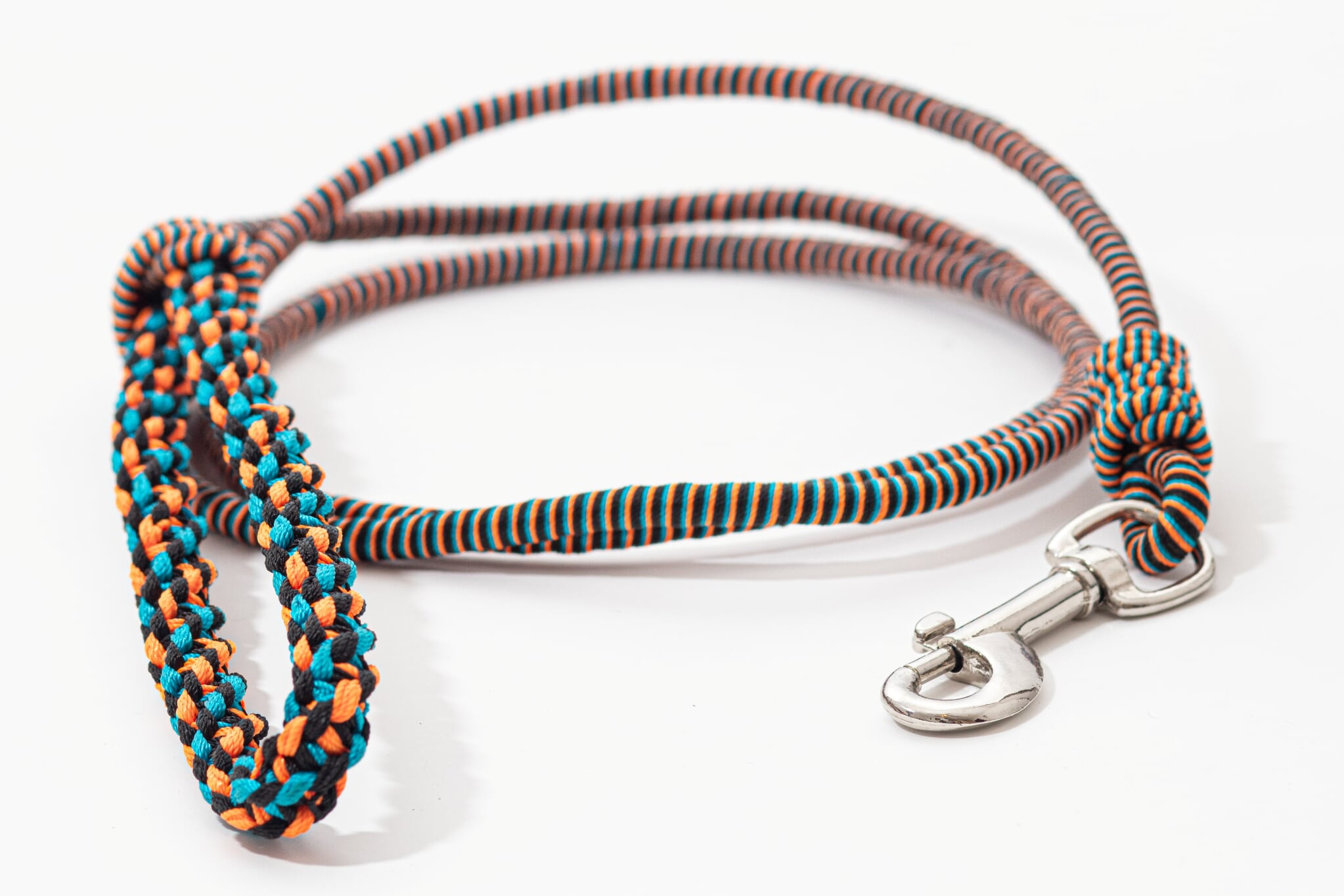 SEQUENCE dog leash- Orange combination