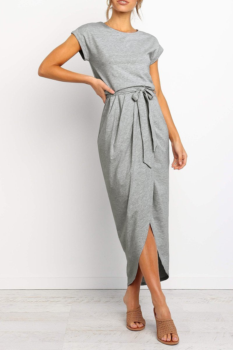 Aptro After Midnight Ankle Length Dress(4 Colors Extra Offer)