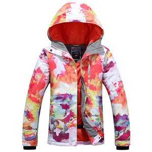 Women's High-Tech Ski Jacket Windproof Breathable Outdoor Jacket - Aptro Fashion