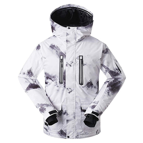 Men's High Tech Ski Jacket Waterproof Mountain Rain Coat - Aptro