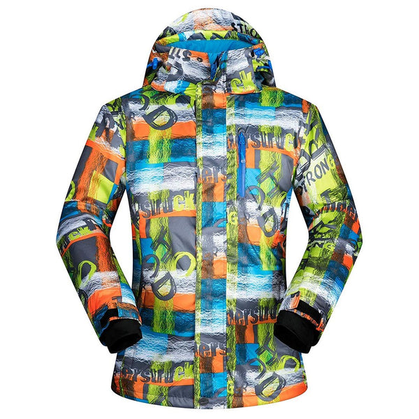 Men's Ski Jacket Outdoor Waterproof Coat Snowboard Jacket - Aptro Fashion