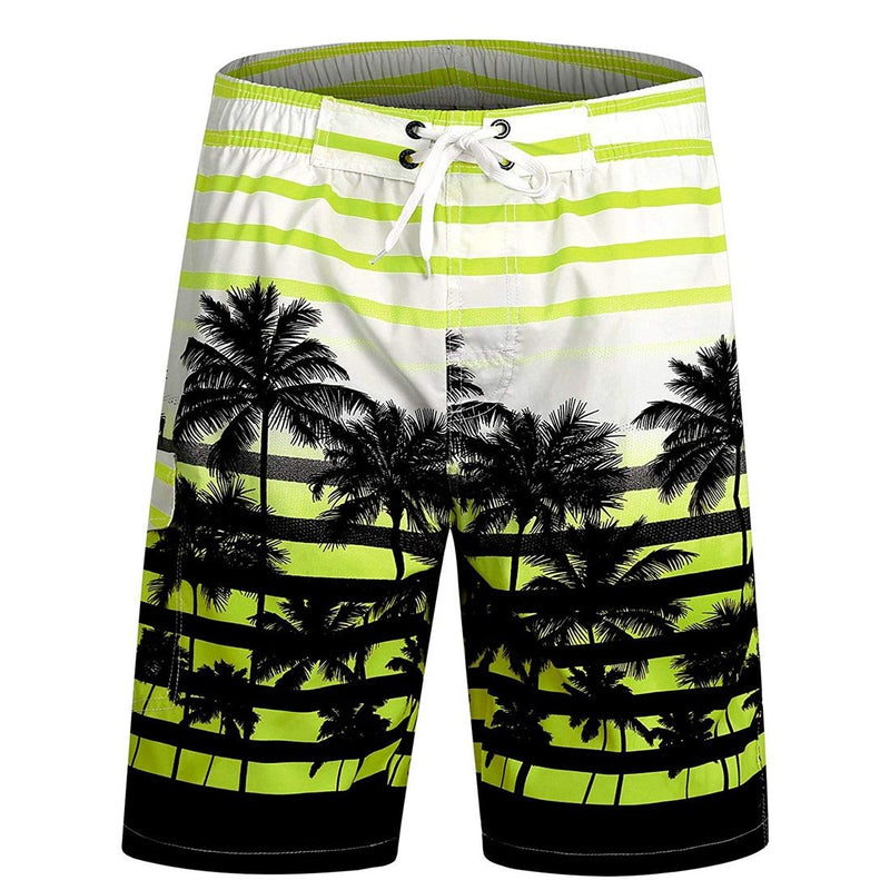 Men's Swim Trunks Quick Dry Beach Shorts - Aptro