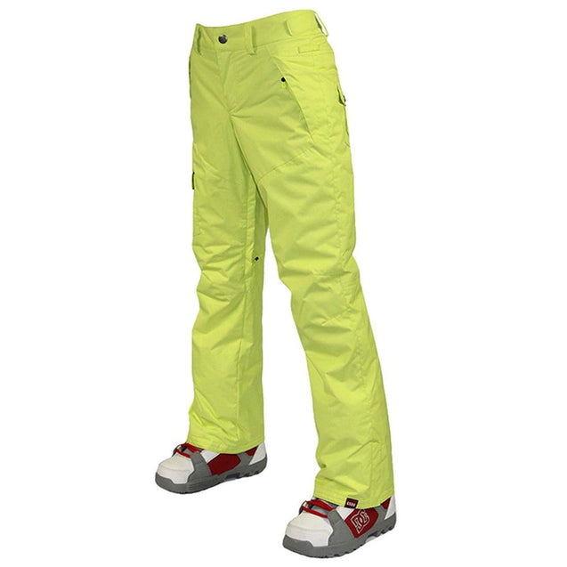 Women's High-Tech Insulated Snow Pants Waterproof Breathable Ski Pants - Aptro Fashion