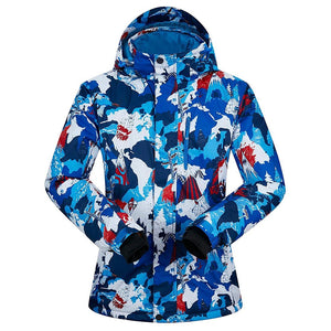 2019 New Trend Women's Ski Jacket Outdoor Coat Snowboard Jacket - Aptro Fashion