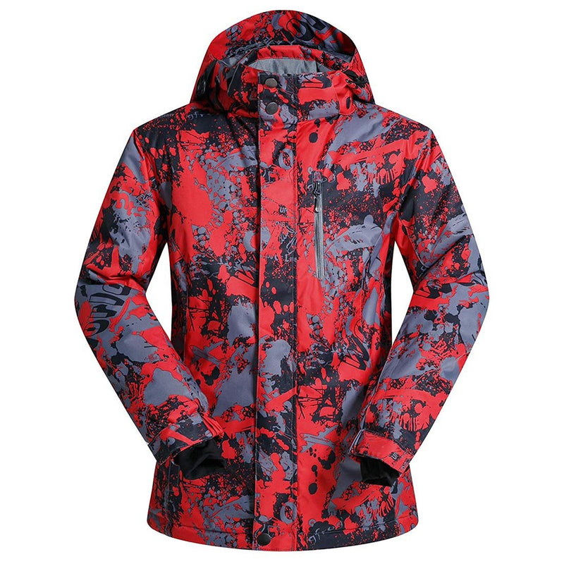 Men's Ski Jacket Outdoor Waterproof Coat Snowboard Mountain Jacket - Aptro