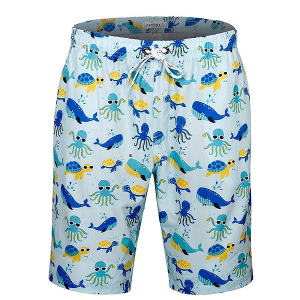 Men's Swim Trunks Beach Shorts No Mesh - Aptro