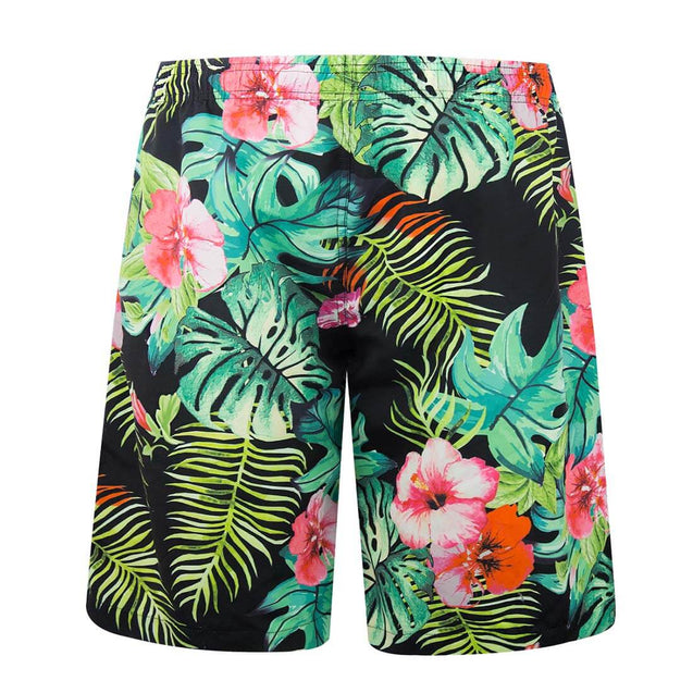 APTRO Men's Flower Printed Swim Trunks - Aptro Fashion