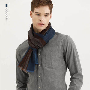 Men's Fashion Wool Scarf - Aptro Fashion